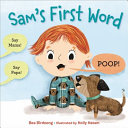 Book cover of SAM'S 1ST WORD