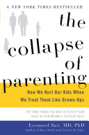 Book cover of COLLAPSE OF PARENTING