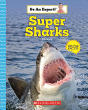 Book cover of SUPER SHARKS