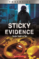 Book cover of STICKY EVIDENCE