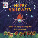 Book cover of HAPPY HALLOWEEN FROM THE VERY BUSY SPIDE