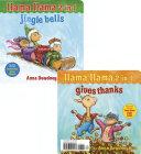 Book cover of LLAMA LLAMA 2-IN-1 GIVES THANKS & JINGLE