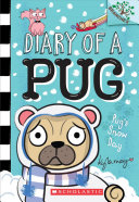 Book cover of DIARY OF A PUG 02 PUG'S SNOW DAY