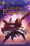 Book cover of CITY OF THE PLAGUE GOD