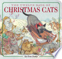 Book cover of 12 DAYS OF CHRISTMAS CATS