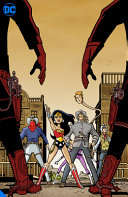Book cover of JUSTICE LEAGUE UNLIMITED TIME