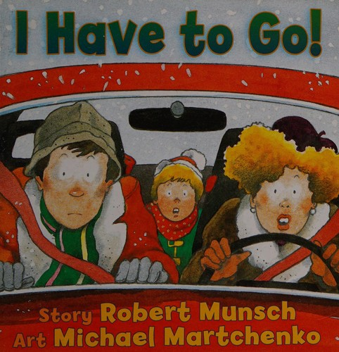 Book cover of I HAVE TO GO