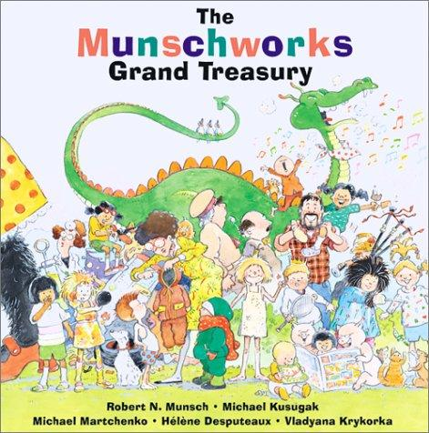 Book cover of MUNSCHWORKS GRAND TREASURY