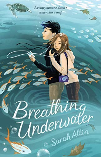 Book cover of BREATHING UNDERWATER