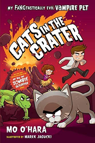 Book cover of CATS IN THE CRATER - MY FANGTASTICALLY E