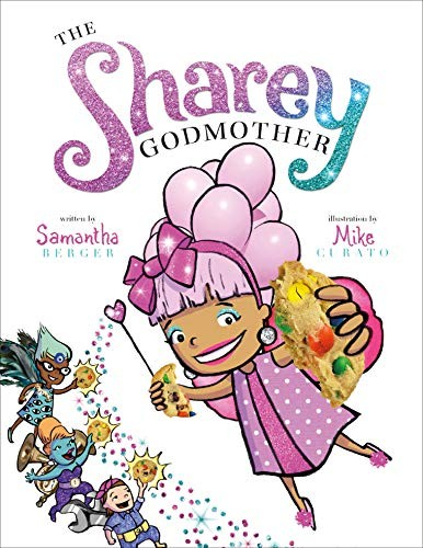 Book cover of SHAREY GODMOTHER