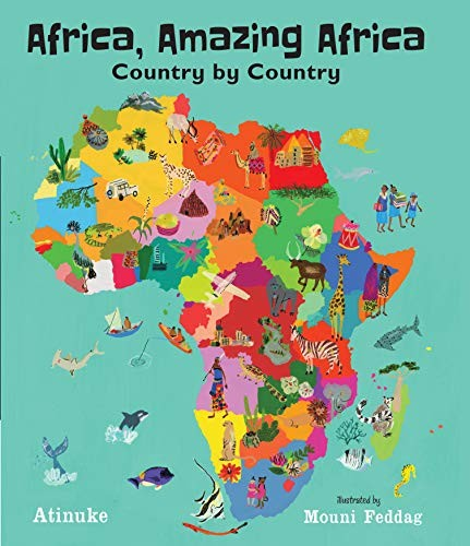 Book cover of AFRICA AMAZING AFRICA
