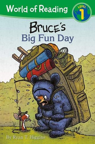 Book cover of BRUCE'S BIG FUN DAY