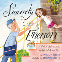 Book cover of SINCERELY EMERSON