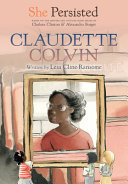 Book cover of SHE PERSISTED - CLAUDETTE COLVIN