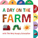 Book cover of DAY ON THE FARM - VERY HUNGRY CATERPILLA