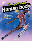 Book cover of DID YOU KNOW HUMAN BODY