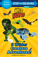 Book cover of 5 WILDER CREATURE ADVENTURES