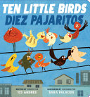 Book cover of 10 LITTLE BIRDS - DIEZ PAJARITOS