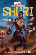 Book cover of SHURI - THE VANISHED