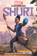 Book cover of SHURI - A BLACK PANTHER NOVEL 01