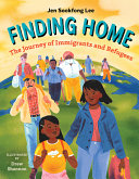 Book cover of FINDING HOME - THE JOURNEY OF IMMIGRANTS