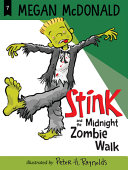 Book cover of STINK & THE MIDNIGHT ZOMBIE