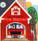 Book cover of LET'S PRETEND FIRE STATION