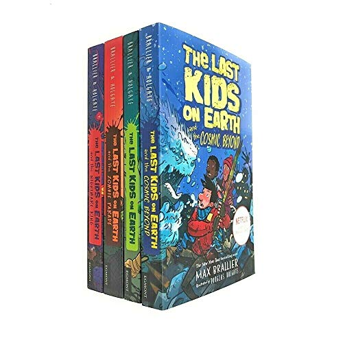 Book cover of LAST KIDS ON EARTH COLLECTION