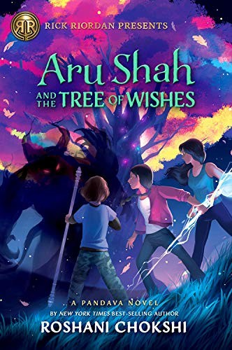 Book cover of ARU SHAH 03 THE TREE OF WISHES