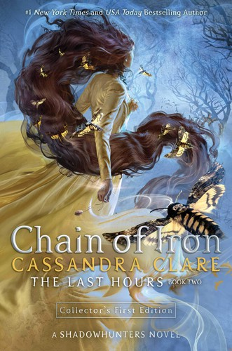 Book cover of CHAIN OF IRON