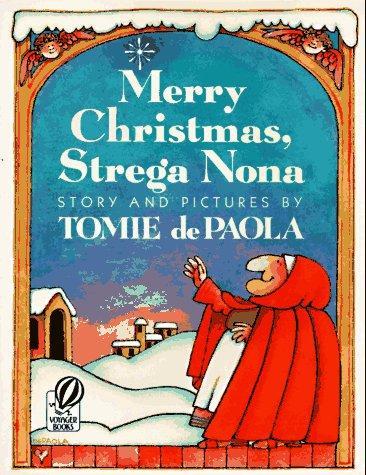 Book cover of MERRY CHRISTMAS STREGA NONA