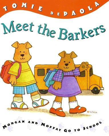 Book cover of MEET THE BARKERS