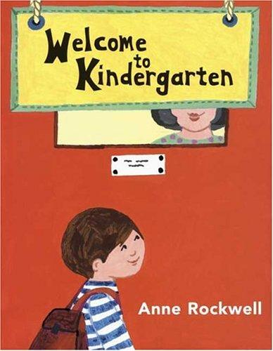 Book cover of WELCOME TO KINDERGARTEN