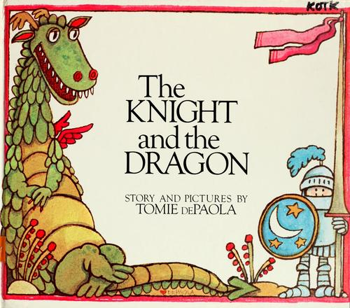Book cover of KNIGHT & THE DRAGON