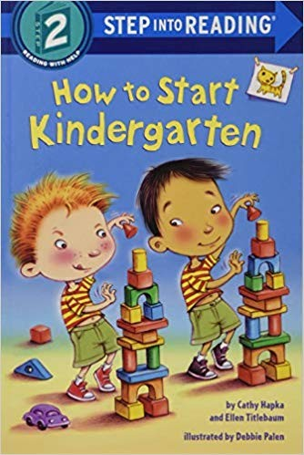 Book cover of HT START KINDERGARTEN