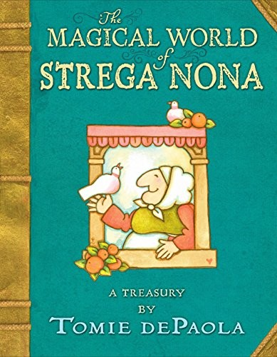 Book cover of MAGICAL WORLD OF STREGA NONA - A TREASUR