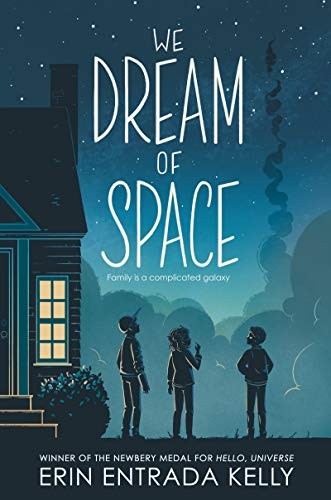 Book cover of WE DREAM OF SPACE