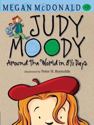 Book cover of JUDY MOODY AROUND THE WORLD