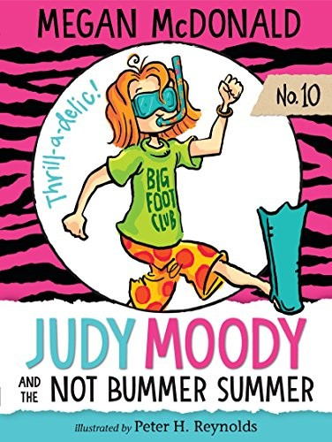 Book cover of JUDY MOODY & THE NOT BUMMER SUMMER