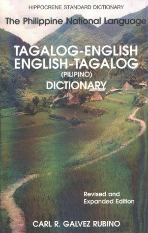 Book cover of TAGALOG ENG DICT