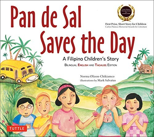 Book cover of PAN DE SAL SAVES THE DAY