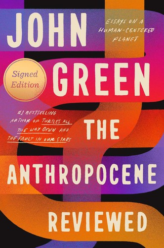 Book cover of ANTHROPOCENE REVIEWED - ESSAYS ON A HUMA
