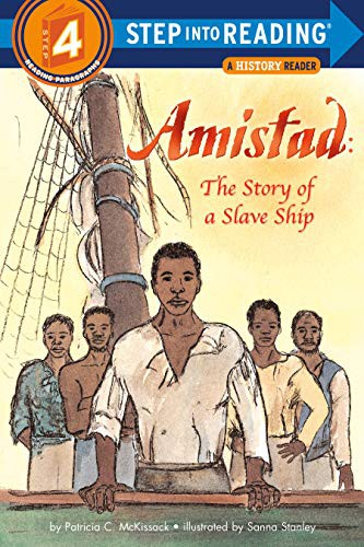 Book cover of AMISTAD - THE STORY OF A SLAVE SHIP