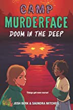 Book cover of CAMP MURDERFACE 02 DOOM IN THE DEEP