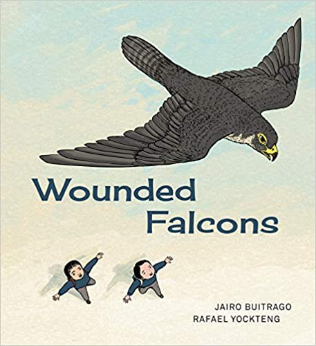 Book cover of WOUNDED FALCONS