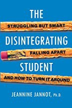 Book cover of DISINTEGRATING STUDENT