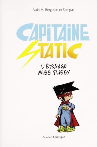 Book cover of ETRANGE MISS FLISSY