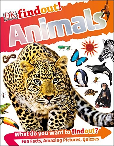 Book cover of DK FINDOUT ANIMALS