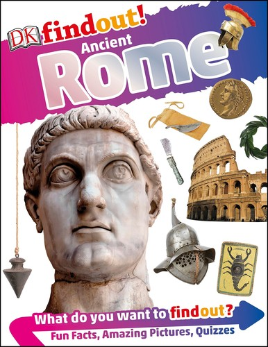 Book cover of DK FINDOUT ANCIENT ROME
